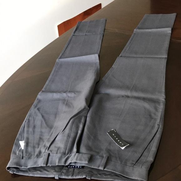 78ca9b23e41 Theory Pants | Designer Mens Size 31 Plain Front Trousers | Poshmark